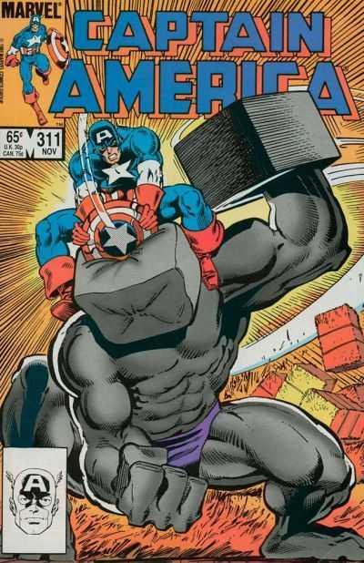 Captain America #311