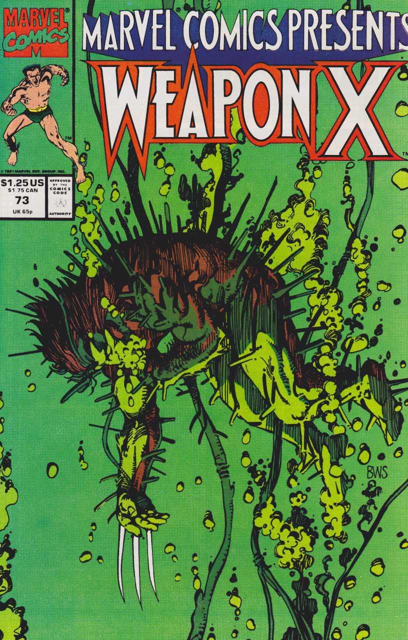 Marvel Comics Presents #73