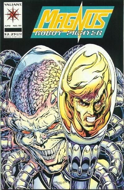 Magnus Robot Fighter #35