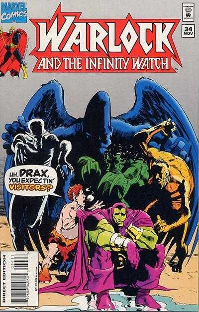 Warlock and the Infinity Watch #34
