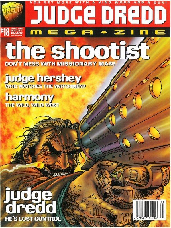 Judge Dredd Megazine #18