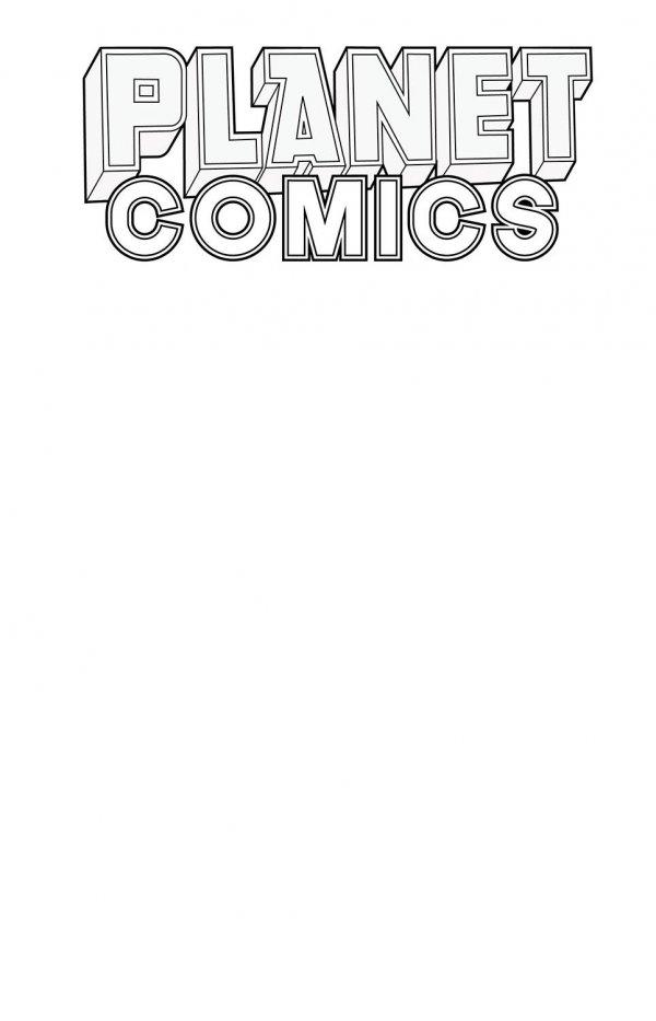 Planet Comics Sketchbook #1