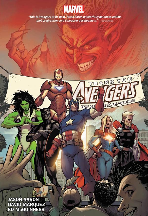 The Avengers by Jason Aaron Vol. 2 HC