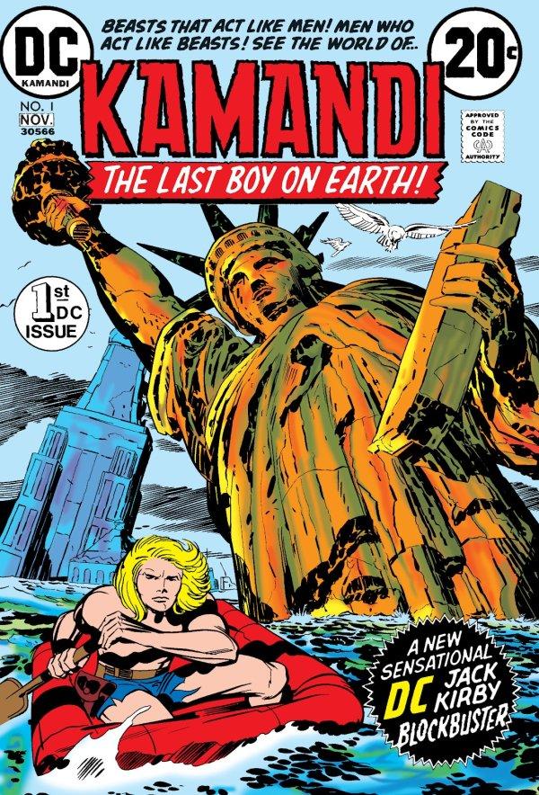 Kamandi, The Last Boy On Earth #1