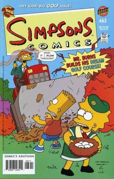Simpsons Comics #63