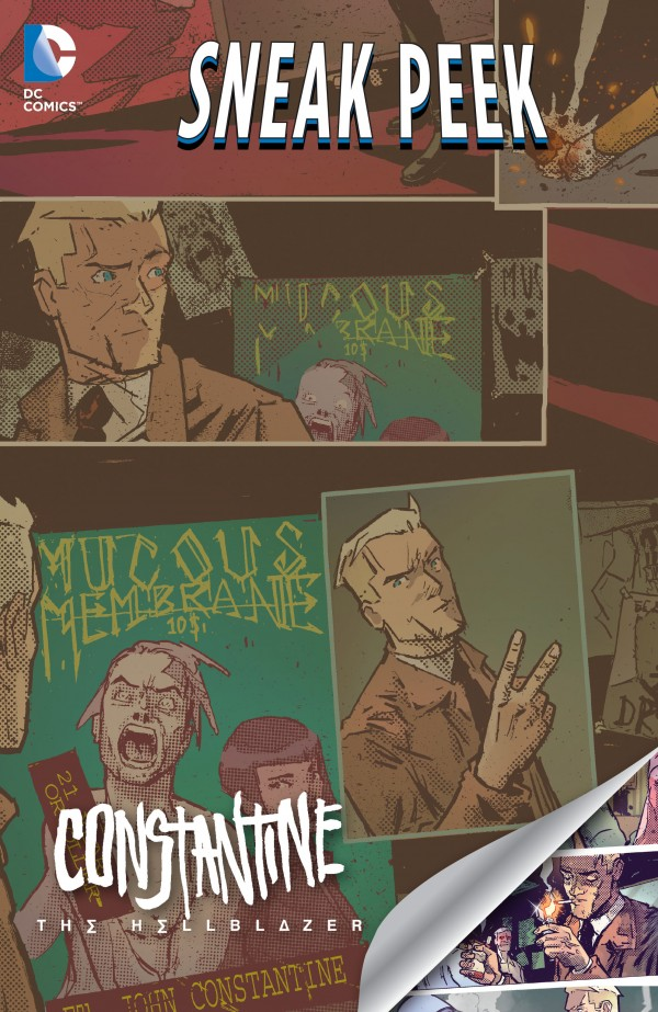 Constantine: The Hellblazer: DC Sneak Peek