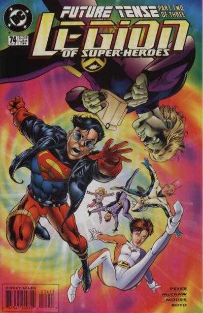 Legion of Super-Heroes #74