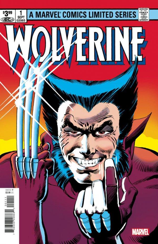 Wolverine: Claremont & Miller #1 Facsimile Edition