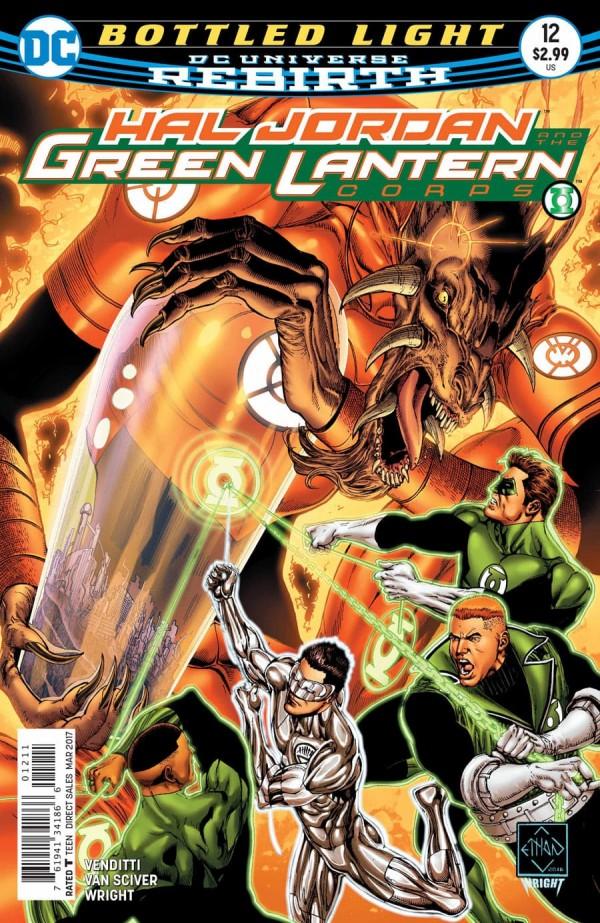 Hal Jordan and the Green Lantern Corps #12
