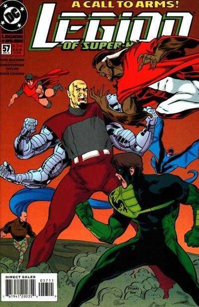 Legion of Super-Heroes #57