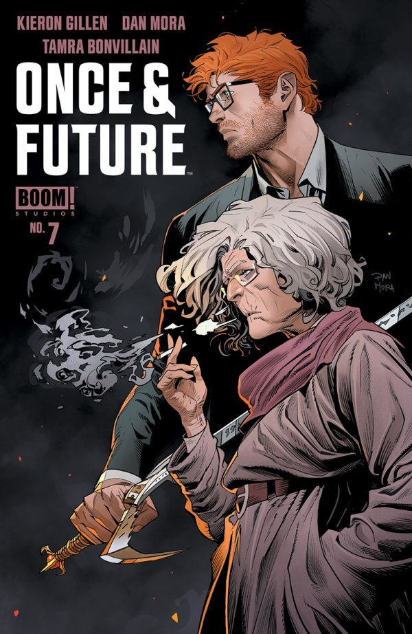 Once & Future #7 review