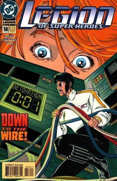 Legion of Super-Heroes #58