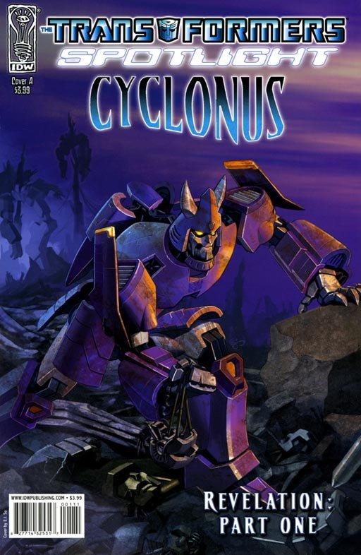 The Transformers Spotlight: Cyclonus