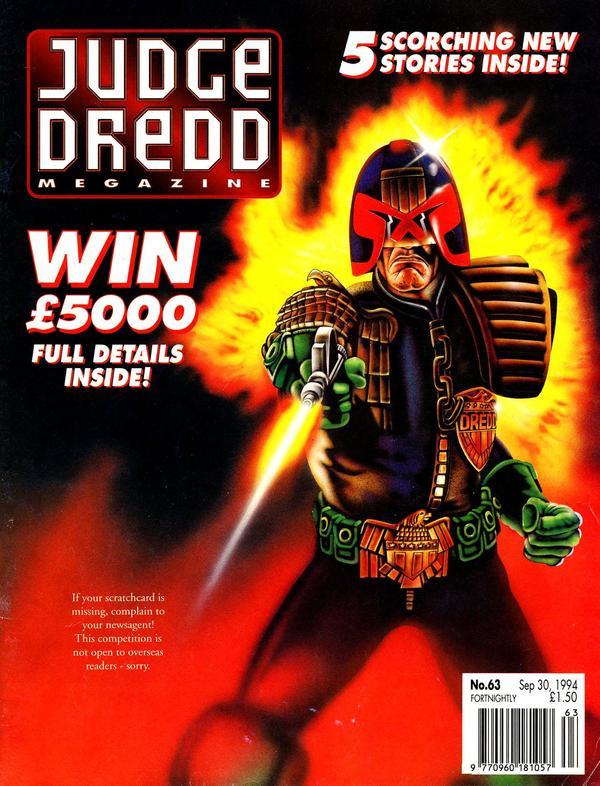 Judge Dredd: The Megazine #63