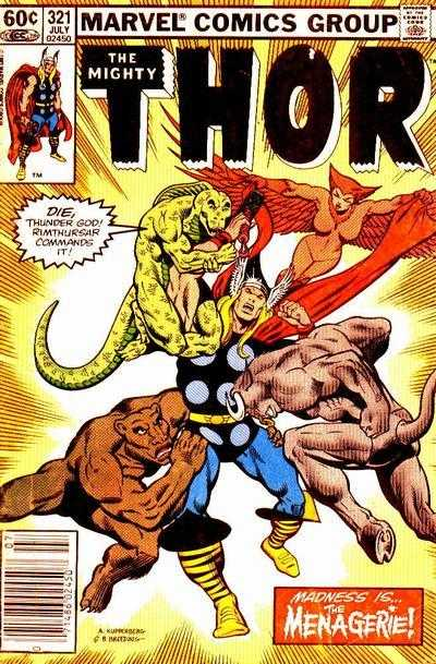 The Mighty Thor #321
