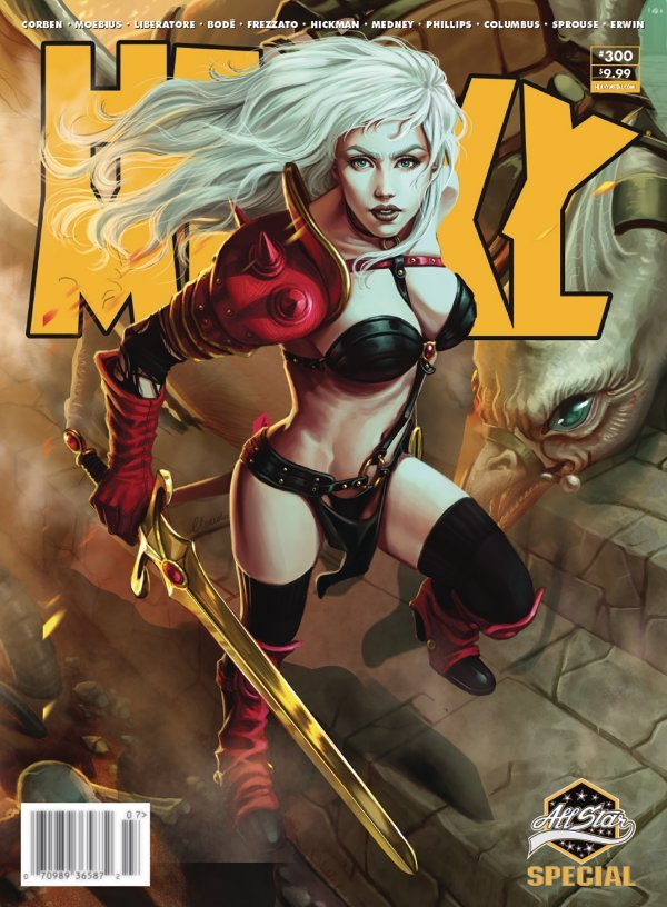 Heavy Metal #300 review