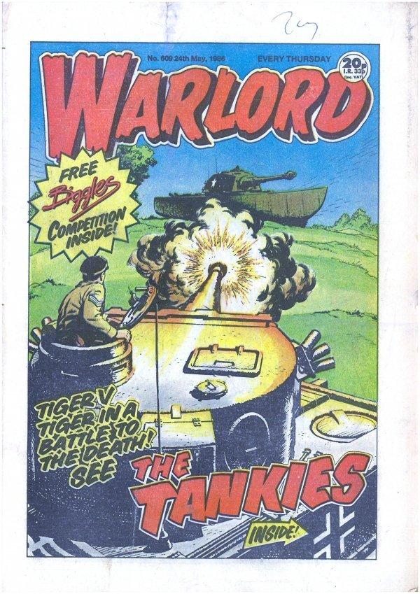 Warlord #609