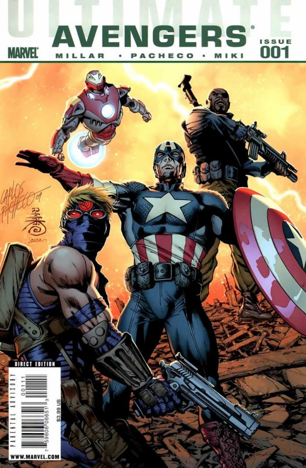 Ultimate Avengers #1