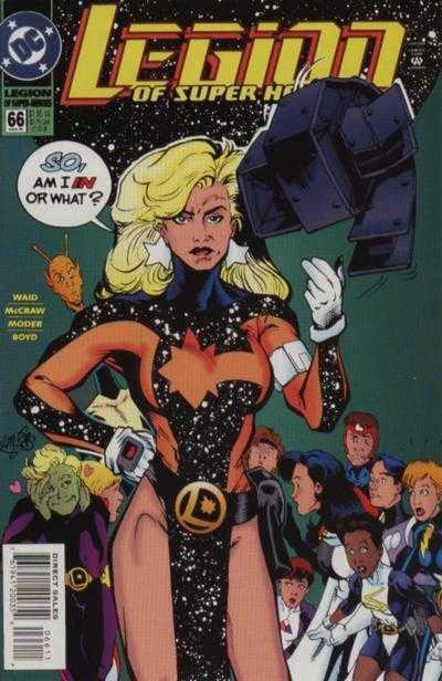 Legion of Super-Heroes #66