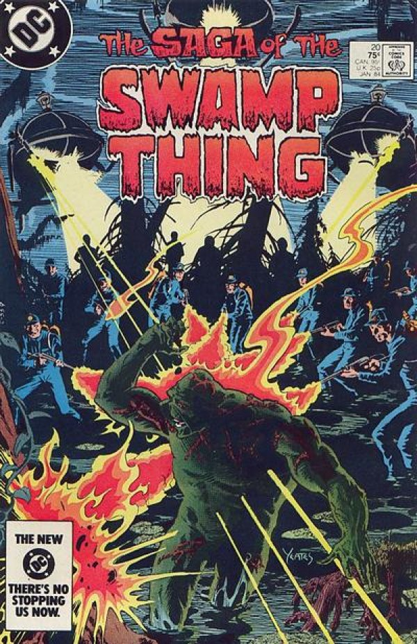 The Saga of the Swamp Thing #20