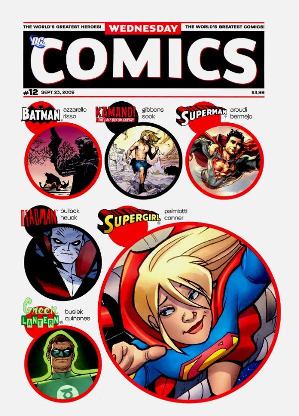 Wednesday Comics #12