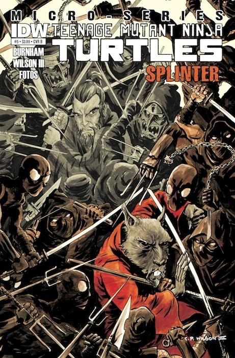 Teenage Mutant Ninja Turtles: Micro-Series #5