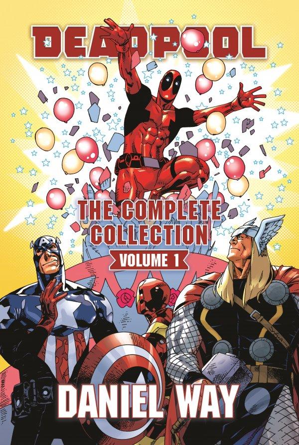 Deadpool By Daniel Way Omnibus Vol. 1 HC