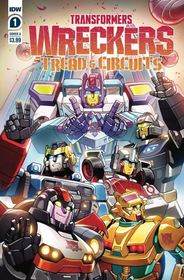 Transformers: Wreckers—Tread & Circuits #1