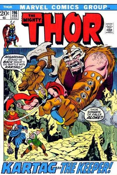 The Mighty Thor #196