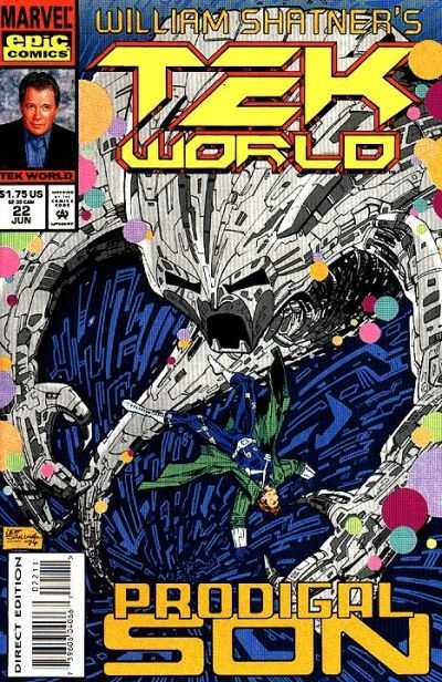 William Shatner/'s TekWorld #13 September 1993 Marvel Epic Comics