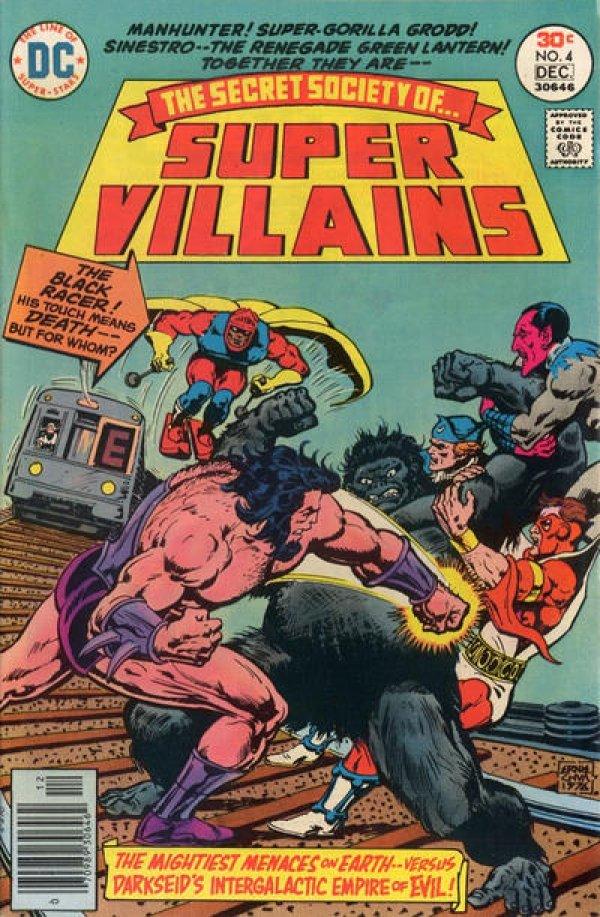 The Secret Society of Super-Villains #4