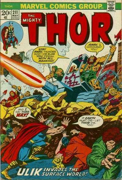 The Mighty Thor #211