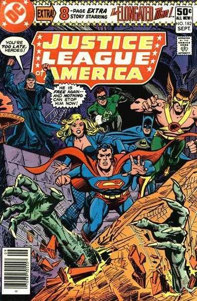 Justice League of America #182
