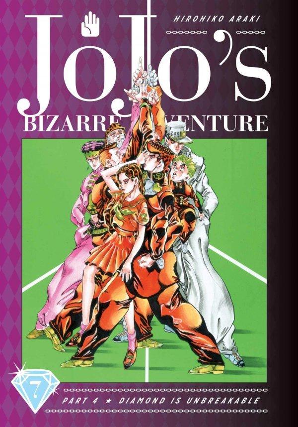 JoJo's Bizarre Adventure: Part 4 - Diamond Is Unbreakable 7 Deluxe HC