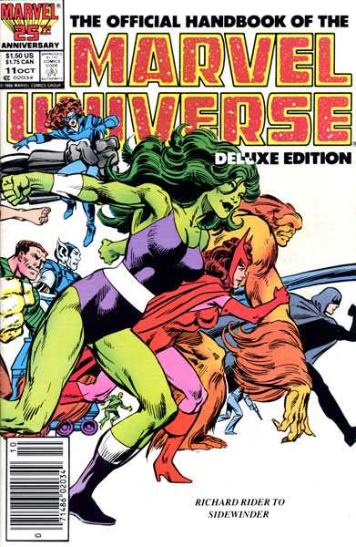 The Official Handbook of the Marvel Universe #11