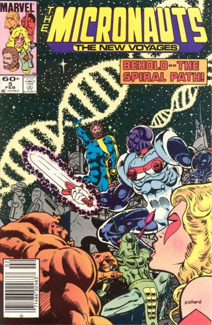 Micronauts: The New Voyages #5