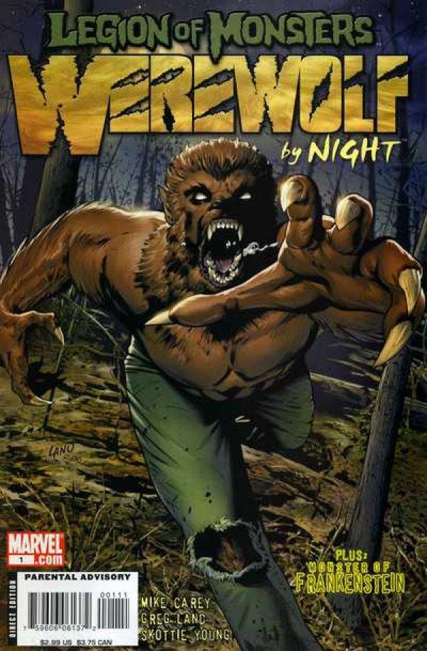Legion of Monsters: Werewolf by Night #1