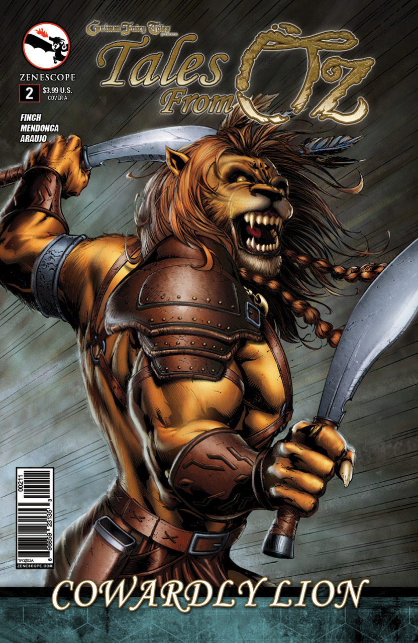 Grimm Fairy Tales Presents Tales From Oz #2