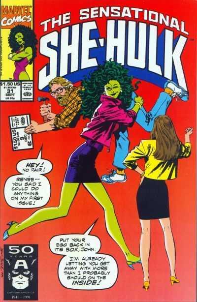 The Sensational She-Hulk #31