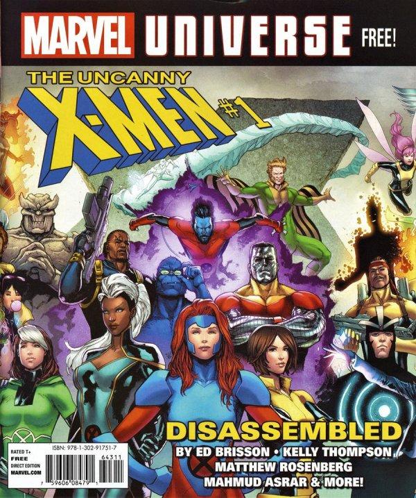 Marvel Universe Magazine #1 Fall