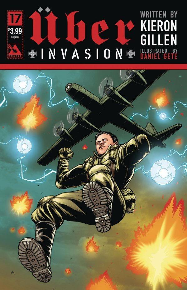 Uber Invasion #17 review