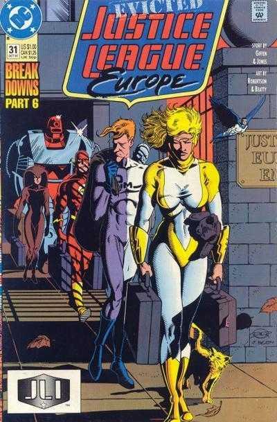 Justice League Europe #31