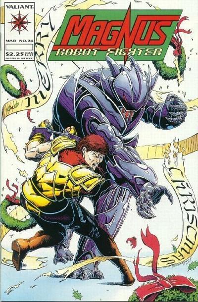 Magnus Robot Fighter #34