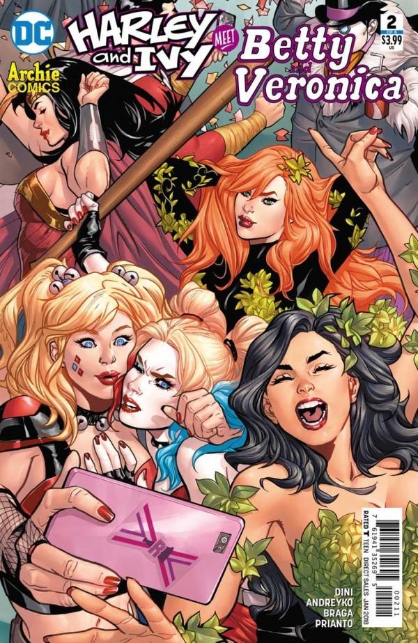 Harley & Ivy Meet Betty & Veronica #2