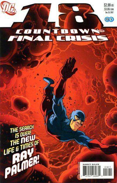 Countdown to Final Crisis #18