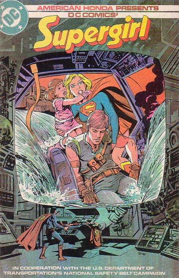American Honda Presents: Supergirl #1