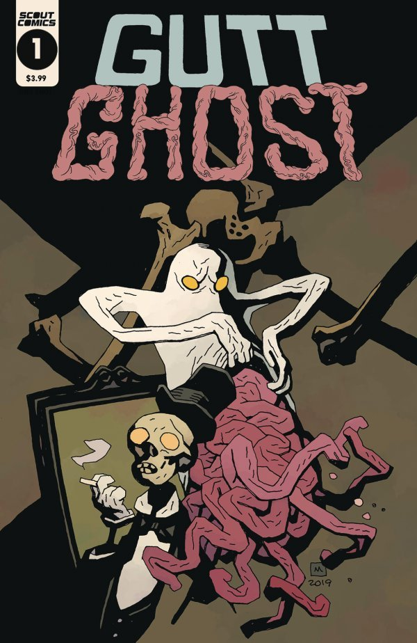 Gutt Ghost: Trouble With the Sawbuck Skeleton Society #1