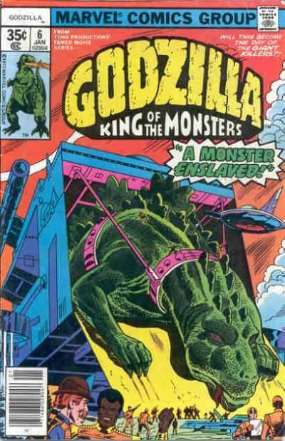 Godzilla: King of the Monsters #6