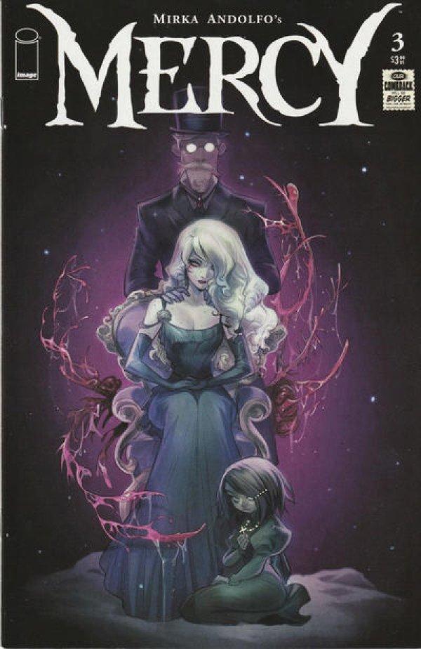 Mirka Andolfo's Mercy #3