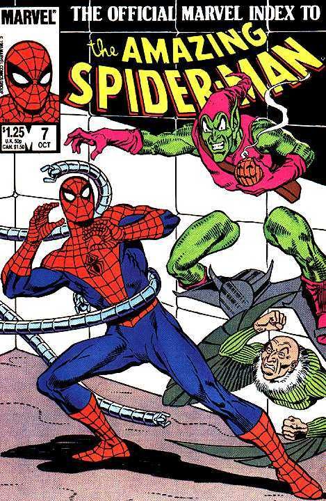 The Official Marvel Index to the Amazing Spider-Man #7